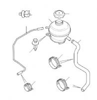 Expansion Tank - Diesel Models